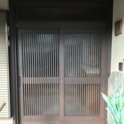 広島市安佐北区のY様邸 玄関扉のリフォーム