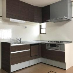 広島市安佐北区のY様邸 L型キッチンの施工事例