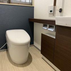 安佐北区口田K様邸リフォーム工事~トイレと脱衣場を入れ替える~