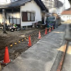 安佐北区可部U様邸リフォーム工事 ~ブロック塀解体~