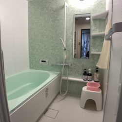 安佐南区のM様邸(マンション浴室)のリフォーム事例